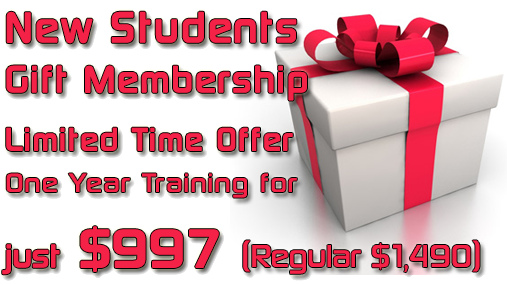 Train for a year for only $997