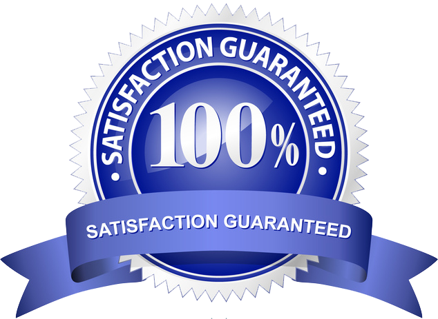 100%, Ironclad, Money back Guarantee
